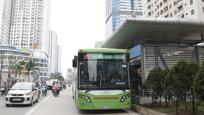 Lịch hoạt động xe buýt tại Thủ đô trong dịp Tết Nguyên đán 2021