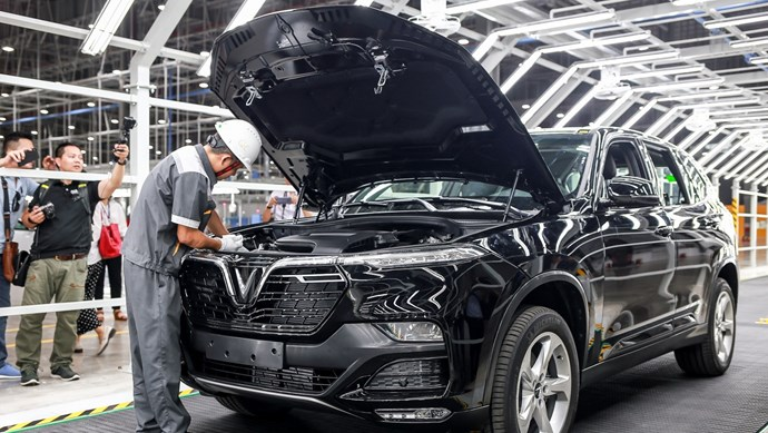 VinFast dự kiến định giá cao hơn Ford