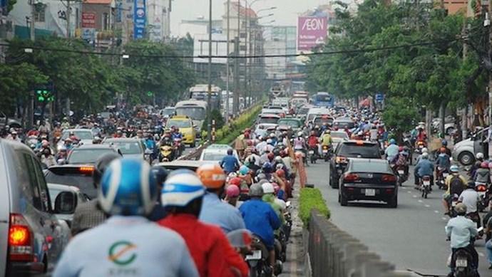 TP Hồ Chí Minh: Cấm xe tải lưu thông trên đường Nguyễn Văn Tăng từ 24/4-19/12/2021