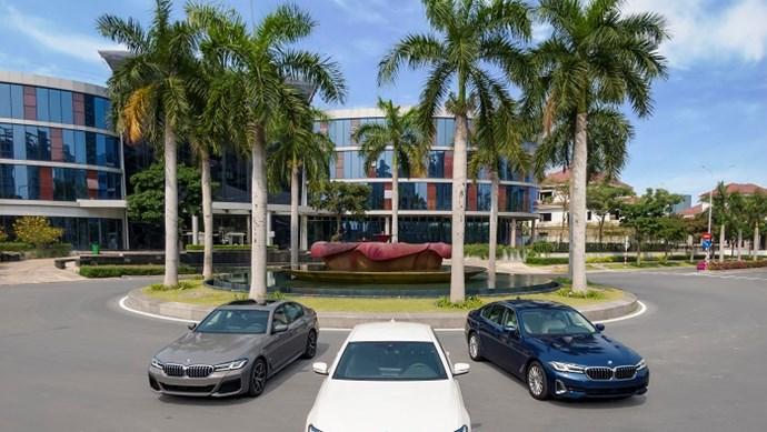BMW 5 Series chính thức ra mắt 3 phiên bản tại Việt Nam