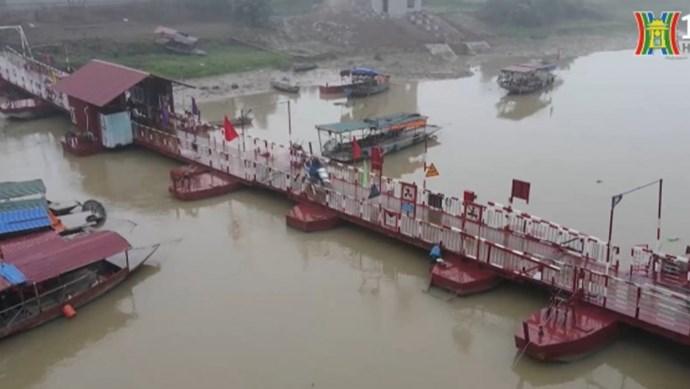 """Làm rõ nghi vấn cầu phao dân sinh bị """"khống tuổi"""" tại huyện Sóc Sơn"""