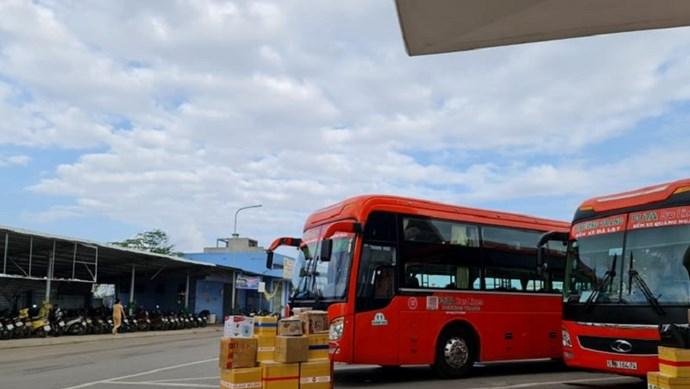 Dừng vận tải hành khách Quảng Ngãi - TP Hồ Chí Minh từ 0 giờ ngày 1/6