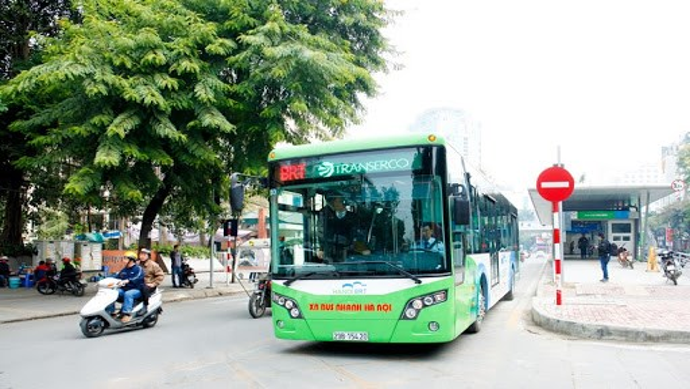 Hà Nội: 100% xe buýt hoạt động trở lại từ 4/5