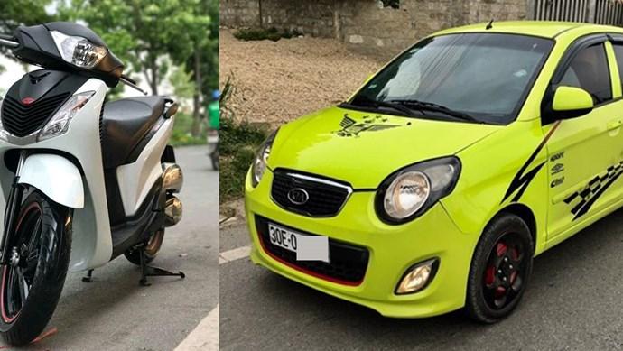 Chỉ có 150 triệu, nên mua ô tô hay SH?