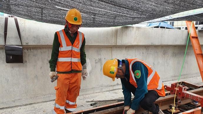 Dự án đường sắt Nhổn - Ga Hà Nội: Giải ngân 355 tỷ đồng cho nhà thầu