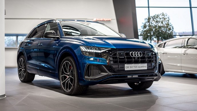 Khám phá Audi Q8 với nội thất thiết kế đặc biệt