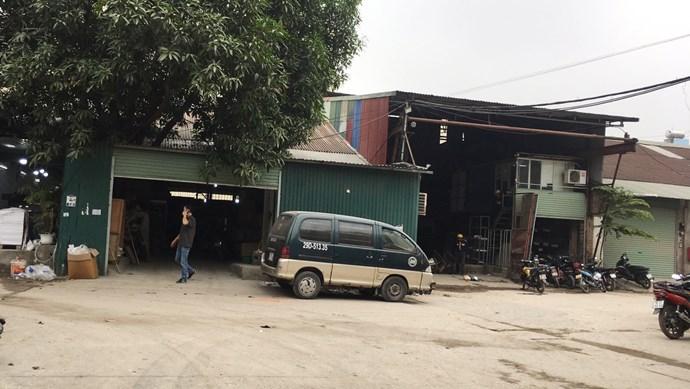 Quận Thanh Xuân: Hàng ngàn m2 nhà xưởng không đủ điều kiện vẫn ngang nhiên hoạt động