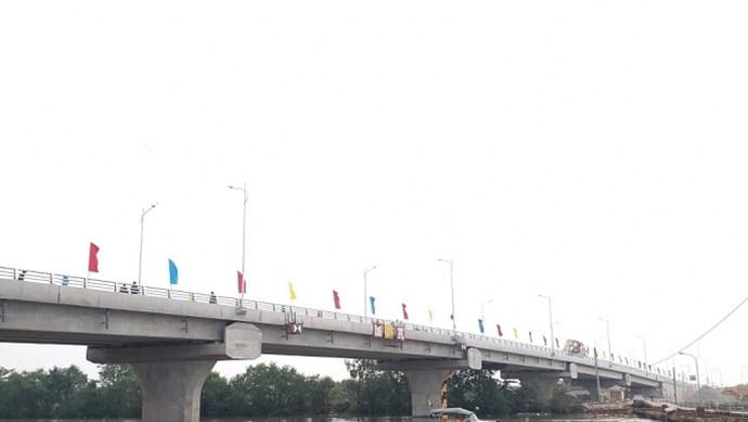 Hải Phòng: Khánh thành cầu sông Hoá kết nối Hải Phòng và Thái Bình