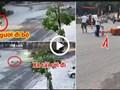 [Clip] Vào cua thiếu quan sát, xe tải cán chết người phụ nữ đi bộ