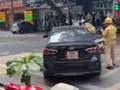 Truy bắt tài xế húc ngã CSGT xuống đường để bỏ chạy