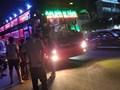 Xe khách quá cảnh đi vùng dịch vô tư đón trả khách trong trung tâm Hà Nội