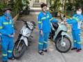 Hành động ấm tình người của nữ lao công bị cướp xe trong đêm