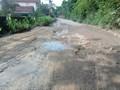 """Dự án nâng cấp đường vào Khu xử lý rác thải Xuân Sơn """"ì ạch"""" khâu giải phóng mặt bằng"""