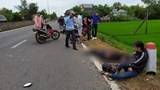 Tông vào cột mốc bên đường, cô gái thất thần bên thi thể bạn trai