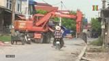 Nhà thầu bỏ thi công dự án đường đê Vân Đình - Ứng Hòa