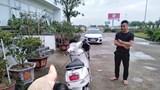 Xử phạt thanh niên đi xe máy ngược chiều trên cao tốc Hà Nội-Hải Phòng