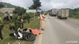 Sơn La: Xe máy va chạm với xe tải, 1 người tử vong tại chỗ