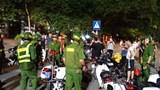 Công an quận Hoàn Kiếm tăng cường đảm bảo TT ATGT, chống đua xe trái phép