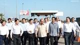 Thủ tướng kiểm tra tiến độ dự án cao tốc Trung Lương-Mỹ Thuận
