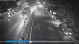 Clip: Chạy sang đường rồi vấp ngã, người đàn ông bị xe container cán tử vong