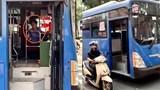 Sa thải tài xế xe buýt nhổ nước bọt vào người đi đường