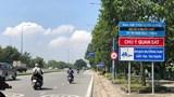 Thành phố Hồ Chí Minh sơn biển báo tốc độ như ở nước ngoài
