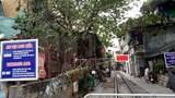 """Cận cảnh phố """"cà phê đường tàu"""" mới ở phường Khâm Thiên"""