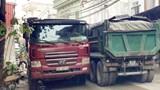 Xe tải hoành hành trên nhiều tuyến đường phường Tây Tựu - Bắc Từ Liêm