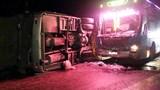 Tai nạn liên hoàn giữa 2 xe khách khiến 6 người thương vong