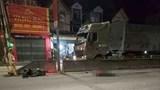 Một người đàn ông tử vong tại chỗ sau va chạm với xe tải