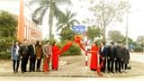 Huyện Gia Lâm gắn biển tên phố Chính Trung, Cửu Việt