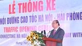 Thông xe tuyến đường nối cao tốc Hà Nội-Hải Phòng và cao tốc Cầu Giẽ-Ninh Bình