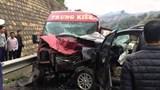 Tin mới nhất về vụ ô tô đâm nhau trên cao tốc Nội Bài - Lào Cai