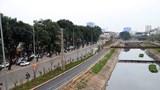 [Video] Ngắm con đường đi bộ và xe đạp bên bờ sông Tô Lịch