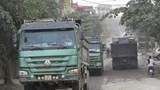 Thị trấn Phú Minh, huyện Phú Xuyên: Ngộp thở vì xe quá tải