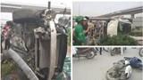 Nữ tài xế điều khiển ô tô tông hàng loạt xe máy, ít nhất 3 người nhập viện