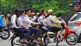 Xử lý nghiêm hành vi không đội mũ bảo hiểm khi tham gia giao thông