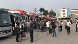 """Hàng trăm xe khách đăng ký vào bến ở Hà Nội rồi """"vắng mặt"""" cả tháng"""