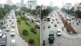 Hà Nội xén vỉa hè, dải phân cách thêm 15 tuyến đường