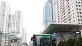 Tuyến buýt BRT 01 thường xuyên quá tải trong giờ cao điểm
