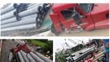 Lời kể của tài xế xe đầu kéo làm vỡ tuyến đường ống nước mặt Sông Đuống