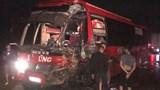 Thêm vụ xe khách bị tông nát đầu trên Quốc lộ 6
