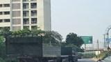 'Bãi xe lậu' trên hành lang cao tốc Pháp Vân bị phạt 5 triệu đồng