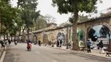 Cấm đường trên phố Phùng Hưng từ sáng nay (3/10)