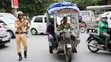 15 tổ công tác 141 Công an TP Hà Nội ra quân xử lý vi phạm giao thông