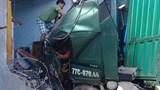 Xe container tông sập nhà dân, 1 người tử vong