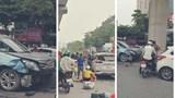 Hà Nội: Danh tính tài xế ô tô tông hàng loạt phương tiện khiến 5 người bị thương