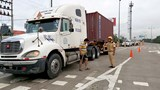 Cảnh sát giao thông cả nước ra quân tổng kiểm soát ô tô trên đường cao tốc