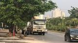 Hà Đông: Xe bê tông phá đường Tố Hữu