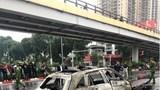 [Video] Hiện trường vụ tai nạn liên hoàn khiến xe Mercedes bốc cháy dữ dội